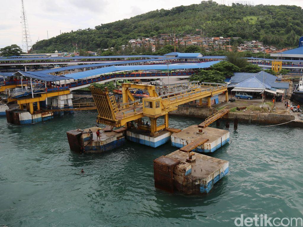 KSOP Banten: KMP Dorothy Bukan Tenggelam tapi Kandas, Kini di Dermaga