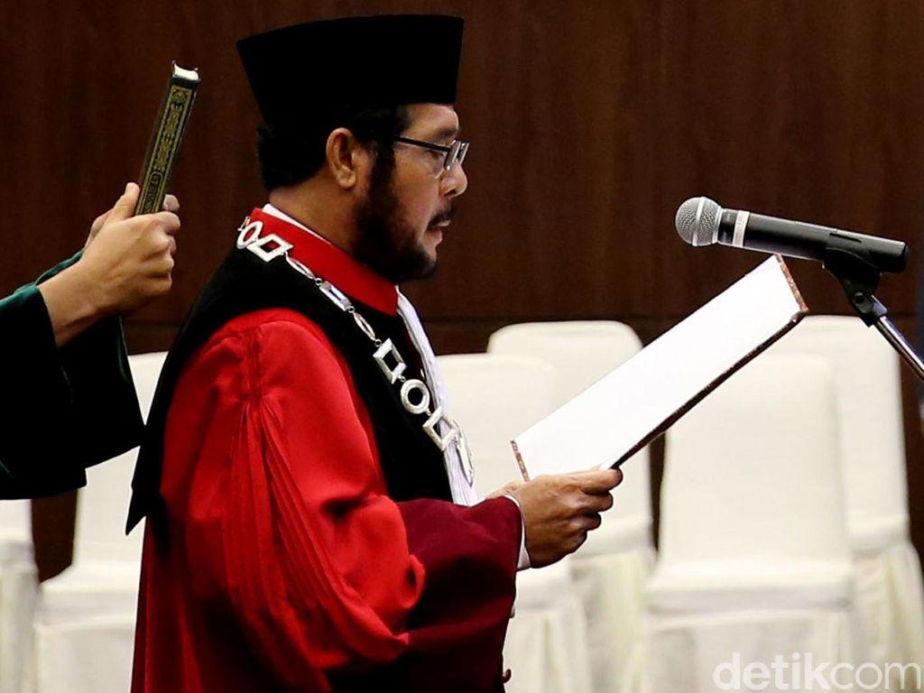 Anwar Usman Dilantik Jadi Wakil Ketua MK