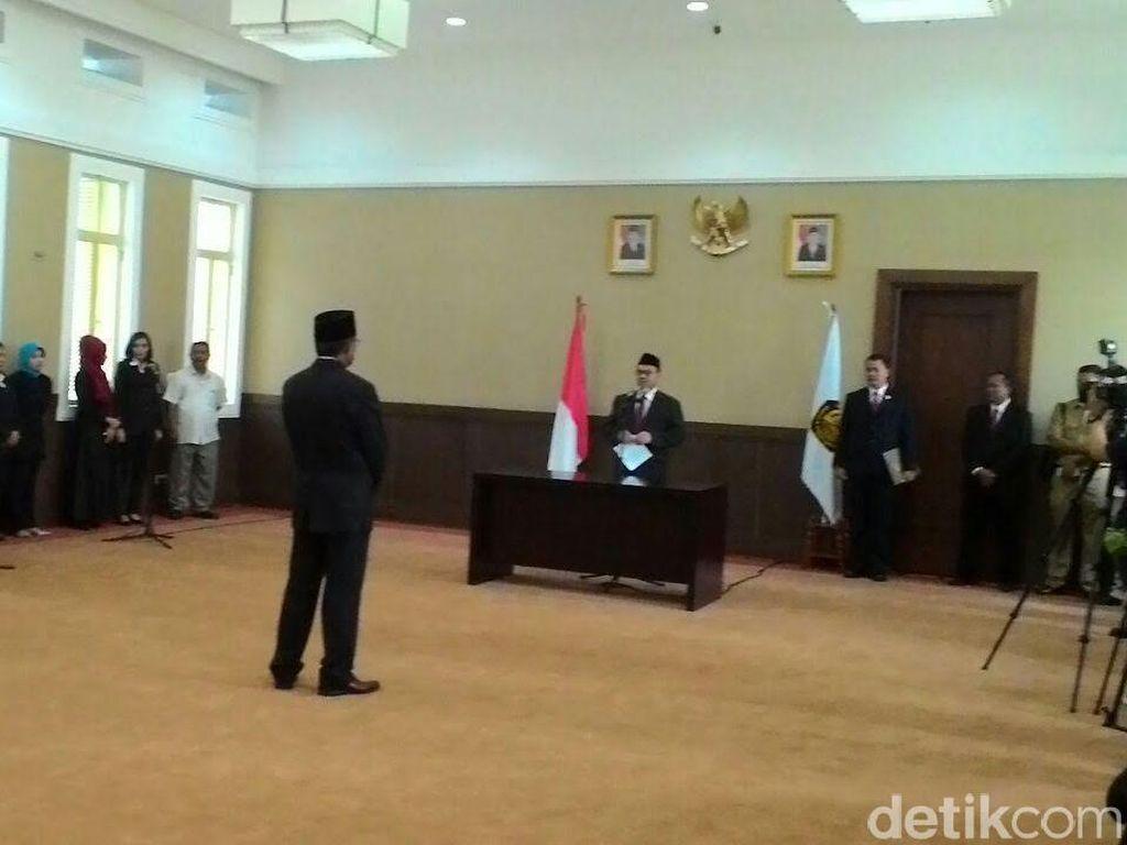Menteri ESDM Lantik Marzuki Daham Sebagai Kepala BP Migas Aceh