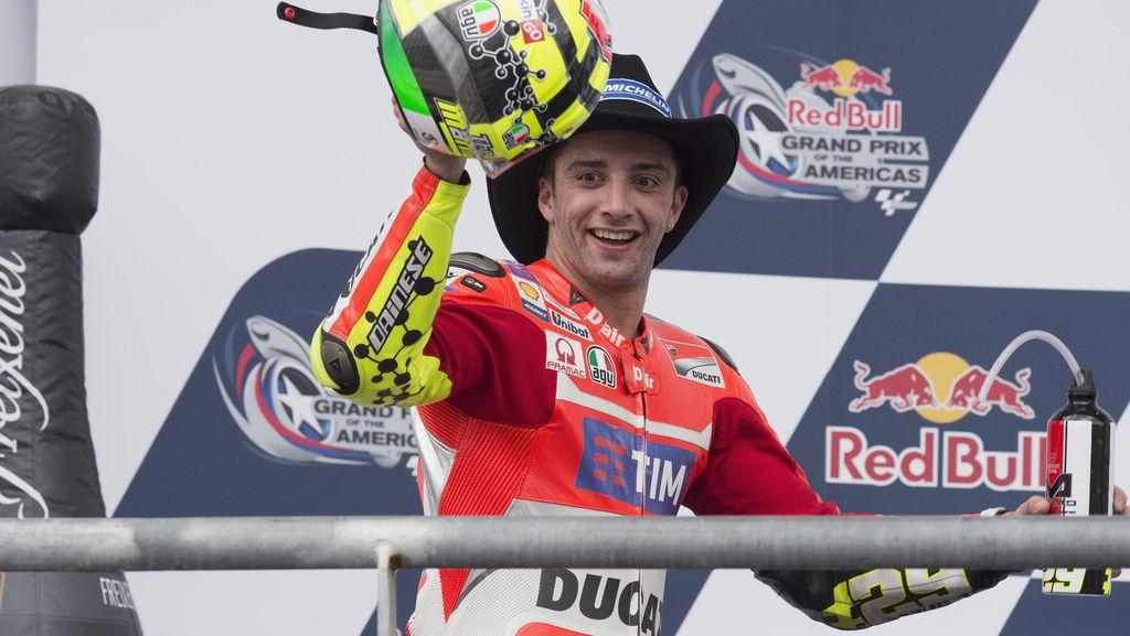 Dari Iannone untuk Ducati Usai Momen Buruk di Argentina
