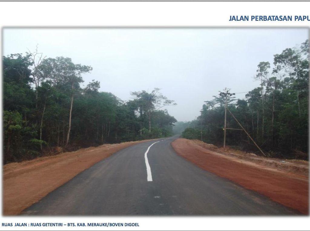Ini Tantangan Jokowi Tuntaskan Jalan Perbatasan Papua 1.098 Km