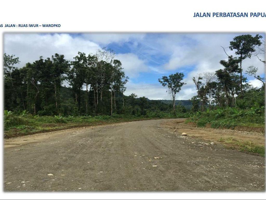 Jalan Perbatasan Papua 1.098 Km, Bisakah Rampung di 2019?