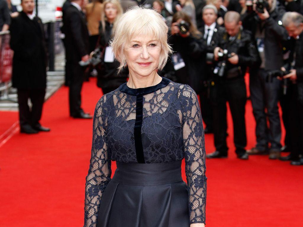 Usia Sudah 70 Tahun, Helen Mirren Ingin Tato Ular di Sekujur Lengan