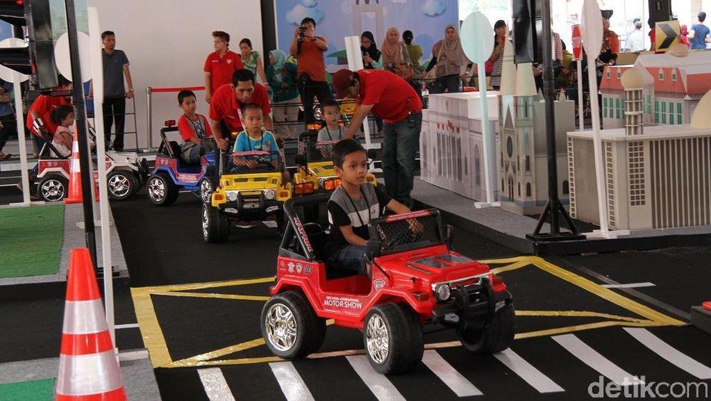 Road Safety for Children, Korlantas Keluarkan 1.500 SIM A untuk Anak
