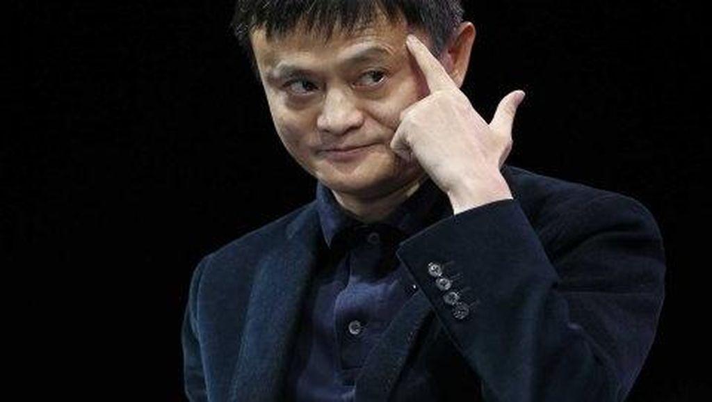 Vladimir Putin Heran Jack Ma Pensiun