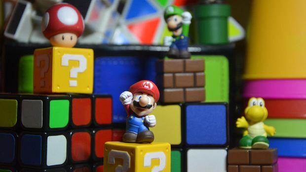 Ilustrasi Kartun Mario Bros