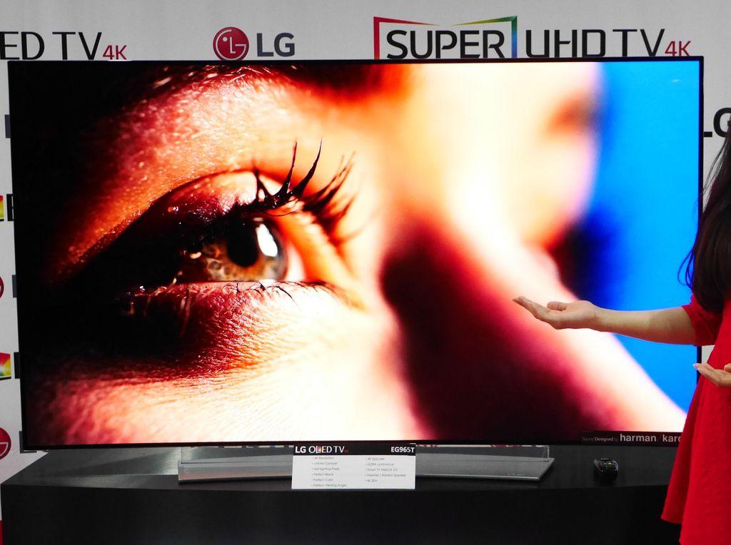 TV OLED 4K LG Dihargai Rp 70 Juta