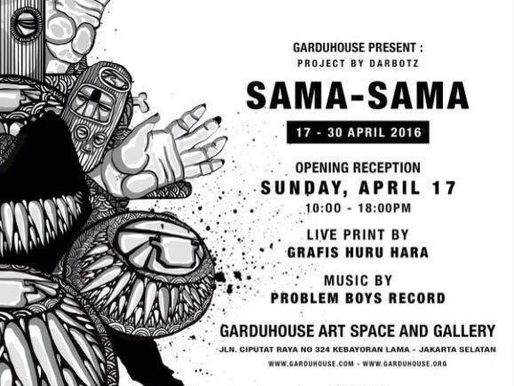 Sama-Sama, Proyek Terbaru Darbotz Bareng 18 Street Artist