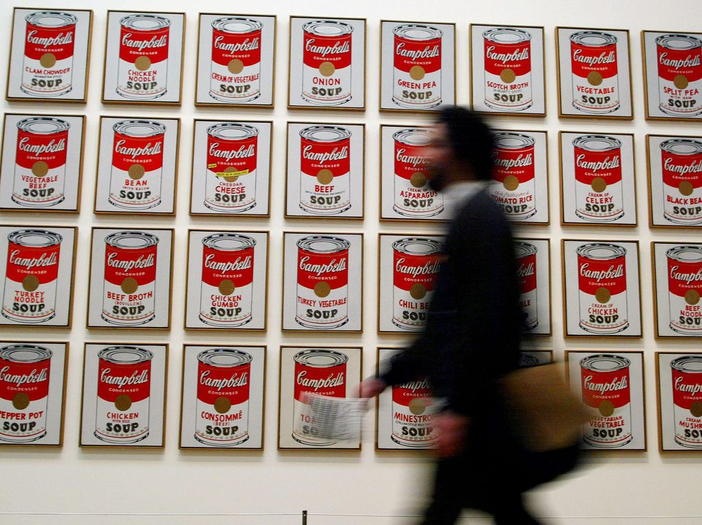 Di Tengah Corona, 100 Karya Ikon Pop Art Andy Warhol Dipajang di London