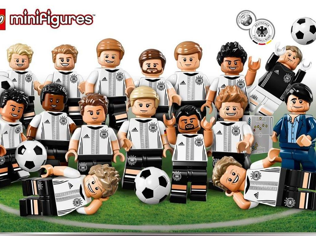 Imut-imutnya Timnas Jerman dalam Wujud Lego