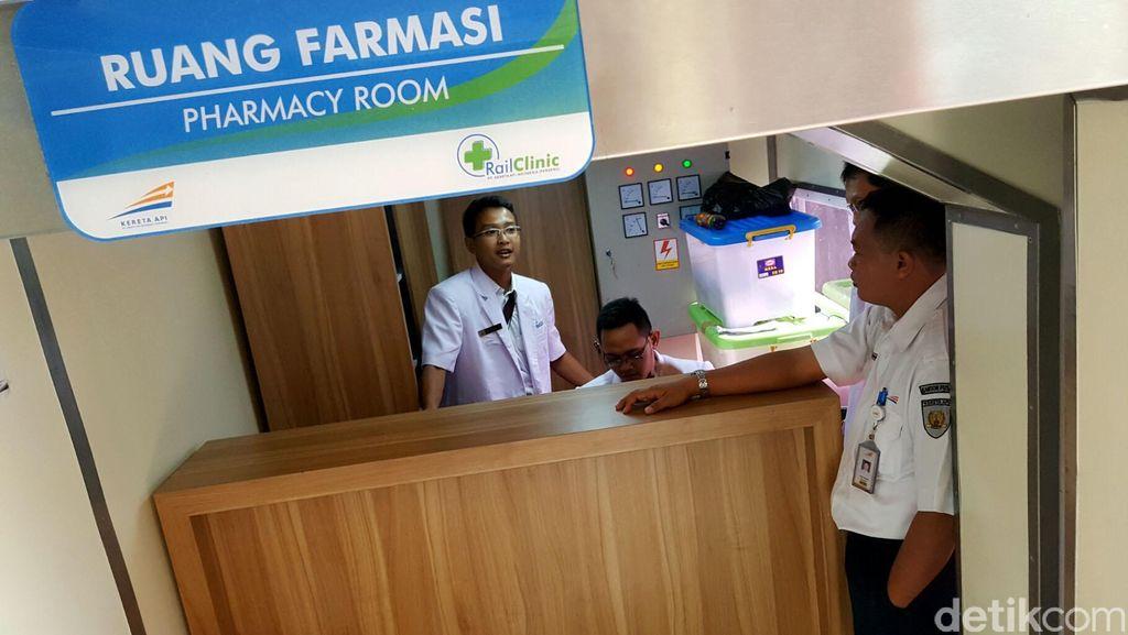 Melihat Gerbong Kereta Medis Pertama di Indonesia