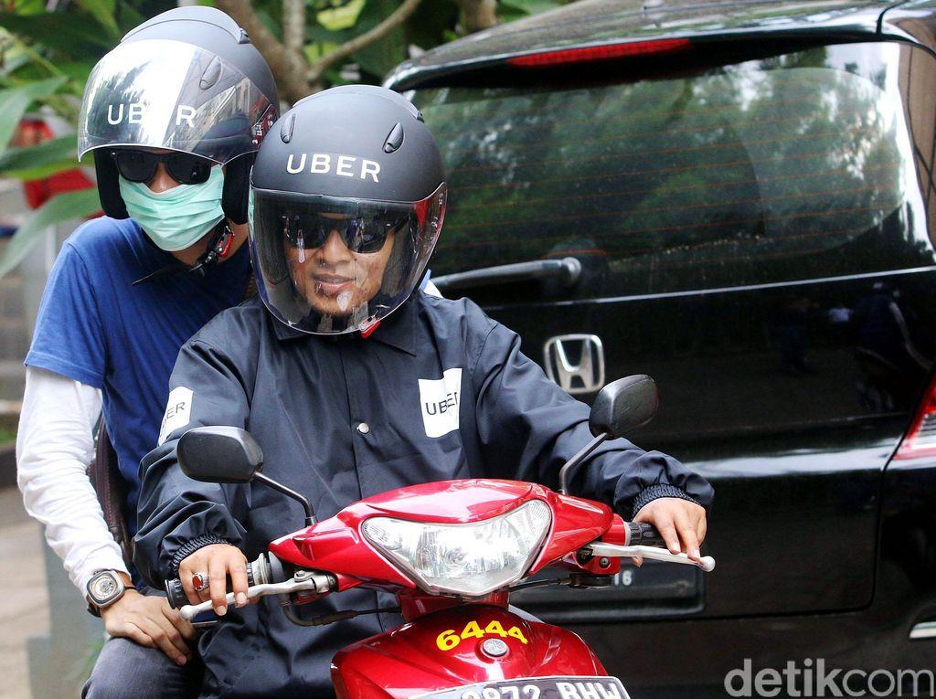 uberMOTOR Hadir di Jakarta