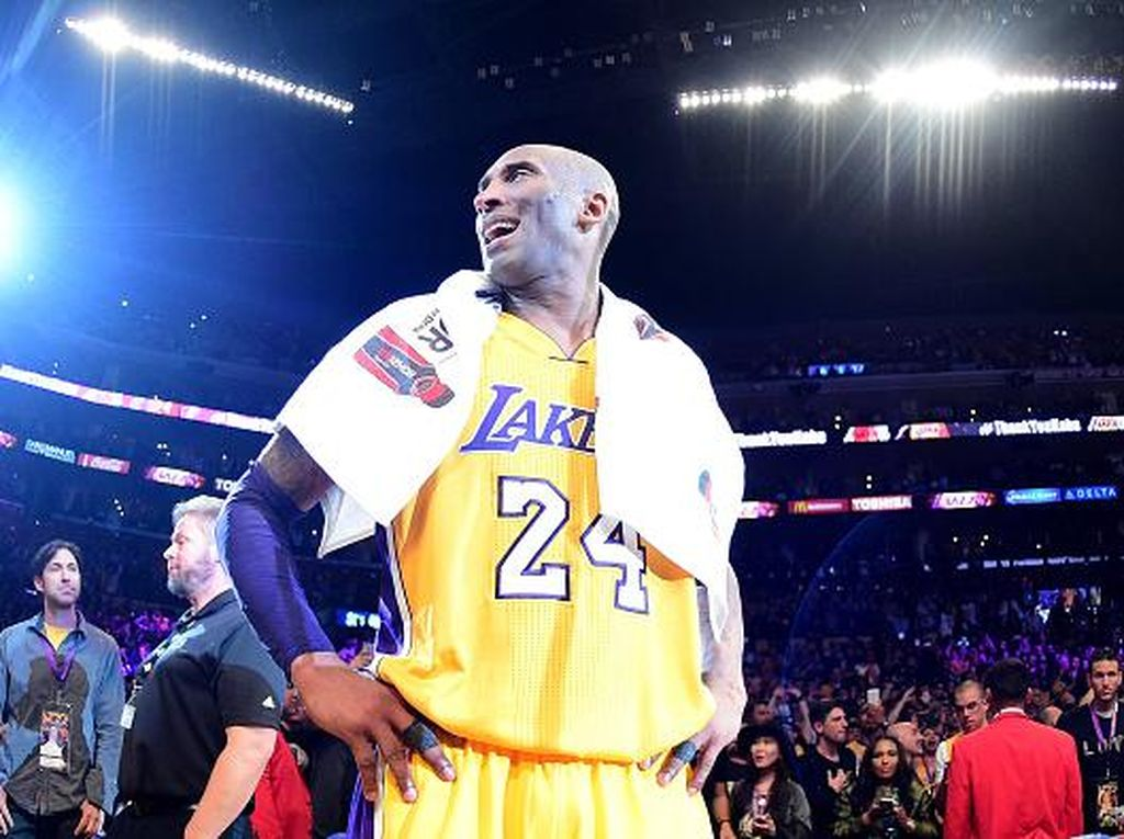 Mengenang Kobe Bryant, Legenda NBA di Jajaran Atlet Terkaya