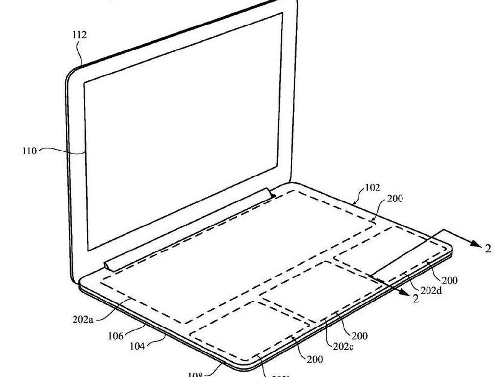MacBook bakal Tanpa Keyboard, Diganti Trackpad Seluruhnya