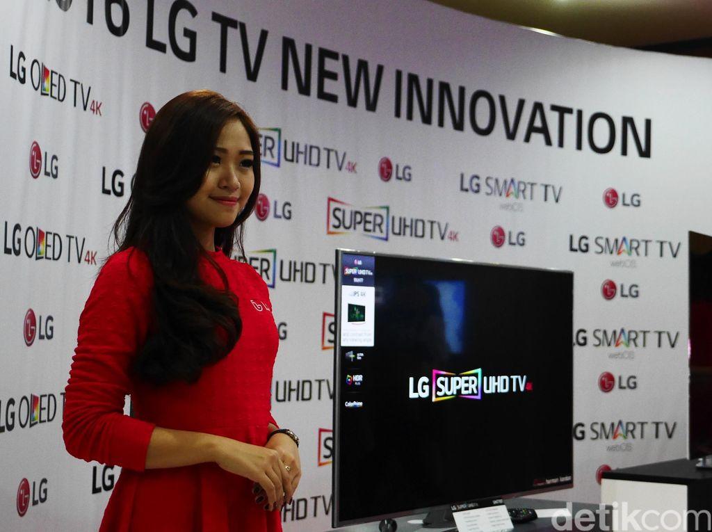 TV LG Mendunia dari Cibitung