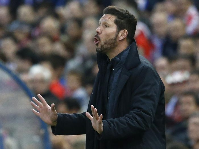 Football Soccer - Atletico Madrid v FC Barcelona - UEFA Champions League Quarter Final Second Leg - Vicente Calderon Stadium - 13/4/16
