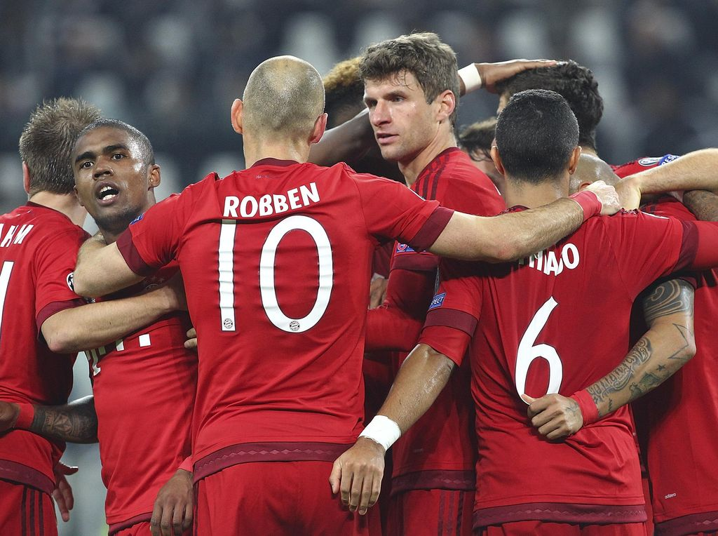 PSG dan Barca Rontok, Peluang Treble Tinggal Milik Bayern