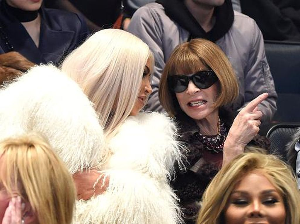 Anna Wintour Menangis di Fashion Show Kanye West, Ada Apa?