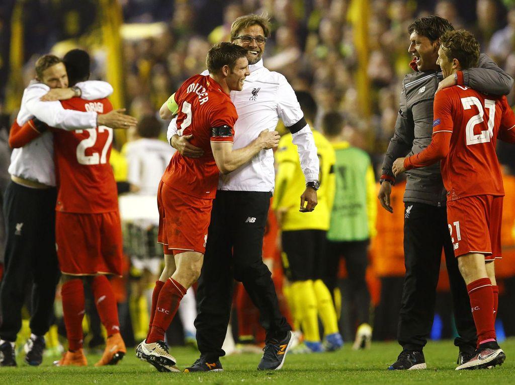 Liverpool Lolos ke Semifinal Liga Europa