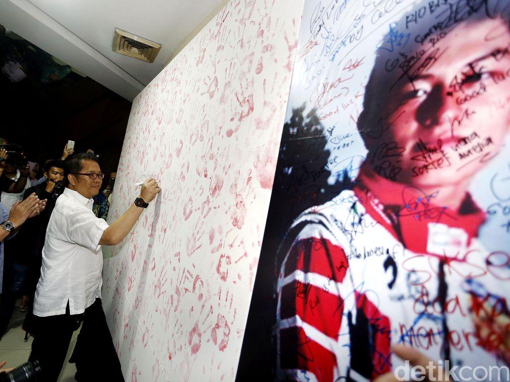 SMS Solidaritas R10 Haryanto Untuk Merah Putih Diluncurkan