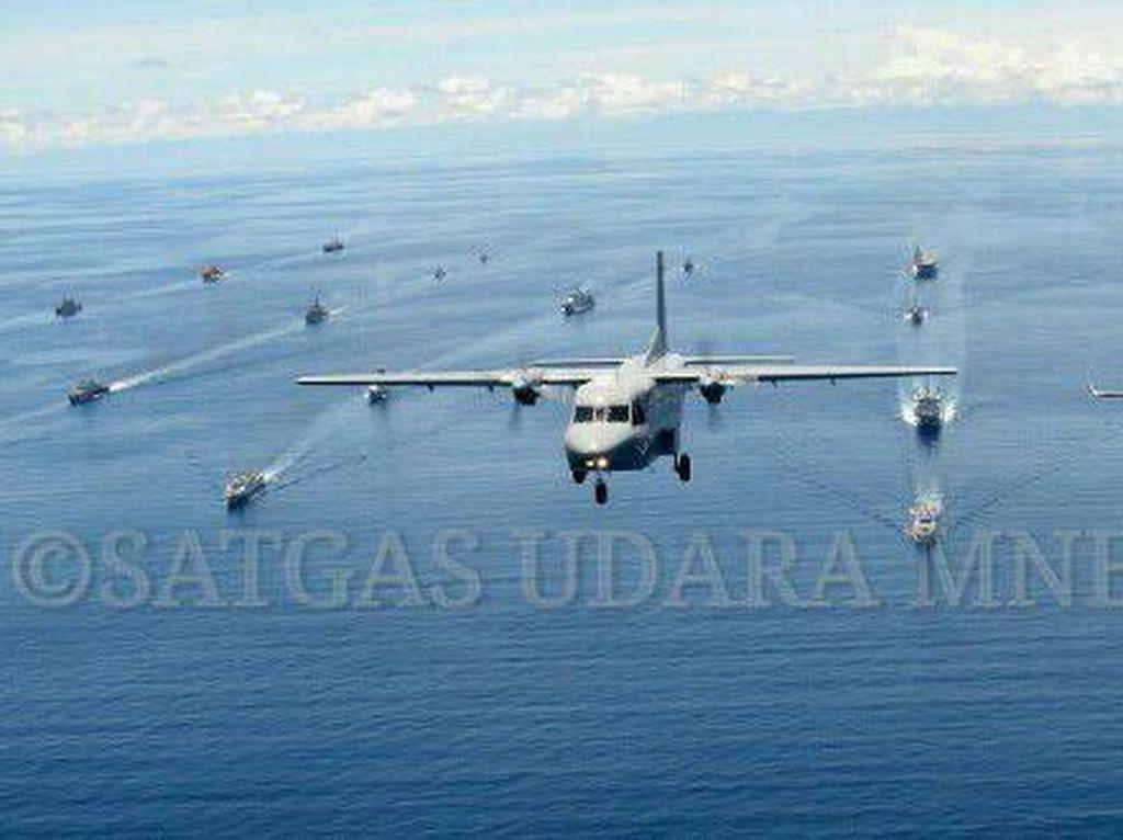 Parade Kapal Perang TNI AL dan Asing Tutup Rangkaian Latihan Komodo 2016