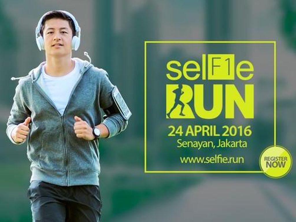 Lomba Lari Sambil Selfie, Berani?