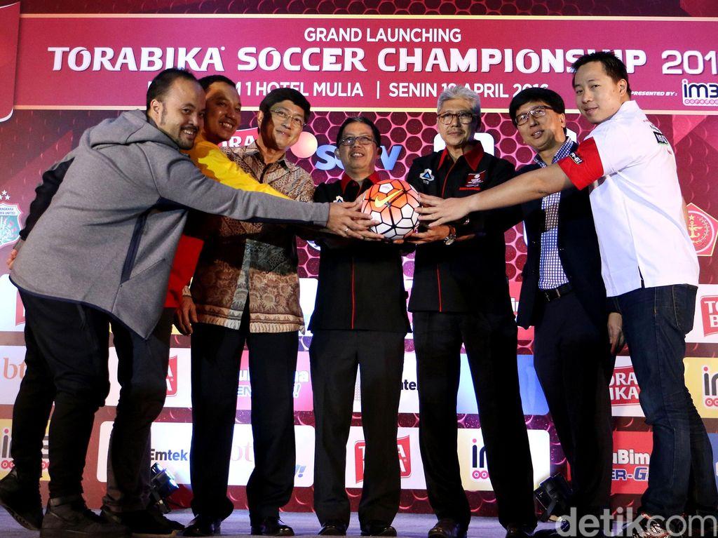 Torabika Soccer Championship Resmi Diluncurkan