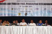 Simposium Tragedi 1965 digelar untuk mengungkap pelanggaran HAM berat 1965-1966 silam, namun tak ada kelanjutannya.