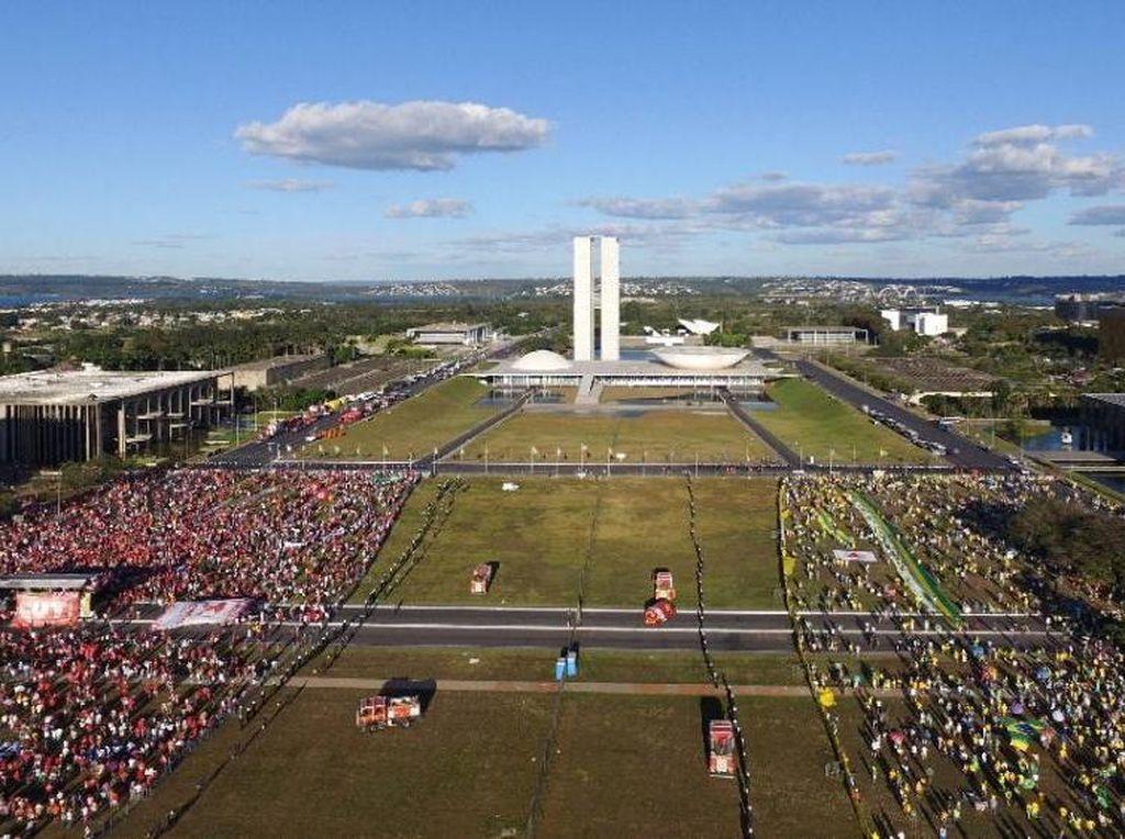 Soal Desain Ibu Kota Baru, RI bakal Nyontek Cara Brasil