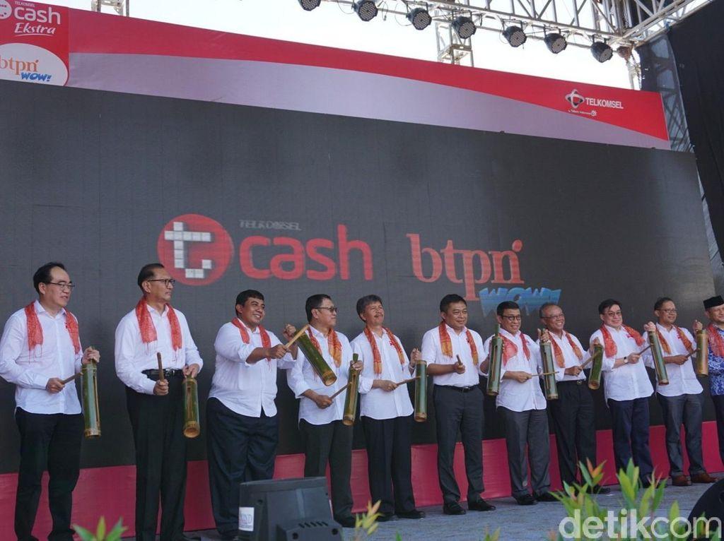 Gandeng BTPN, T-Cash Telkomsel Gerilya ke Pedesaan