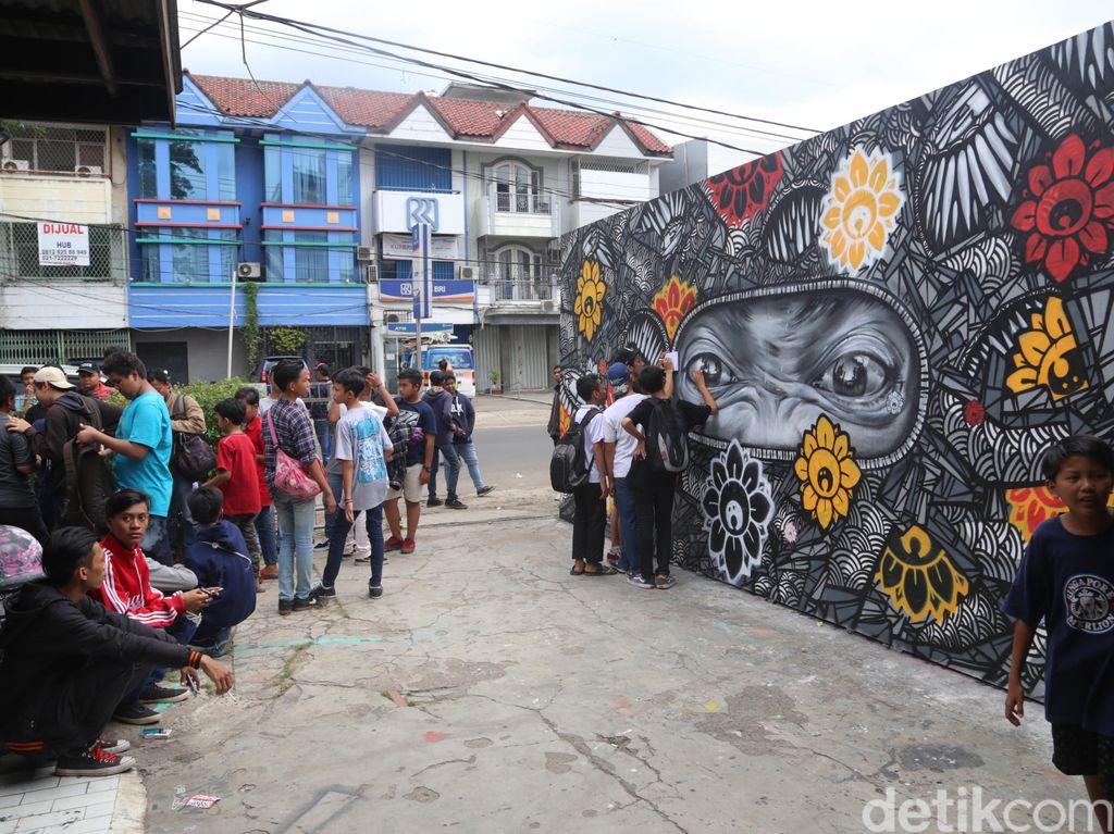 Minimnya Festival Mural di Jakarta, Ini Pesan Darbotz untuk Pemerintah