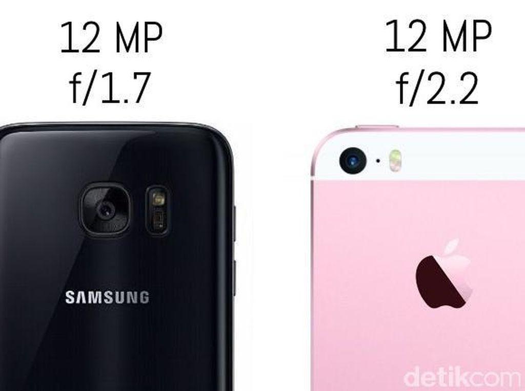 Adu Kamera iPhone SE vs Galaxy S7