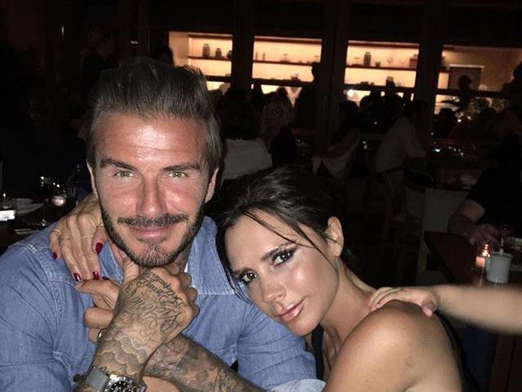 Victoria Kenang Saat Pertama Kali Jatuh Cinta pada David Beckham