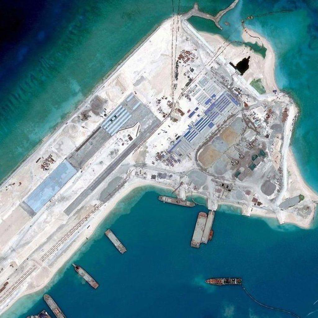 China Pasang Senjata di Laut China Selatan, Filipina Protes