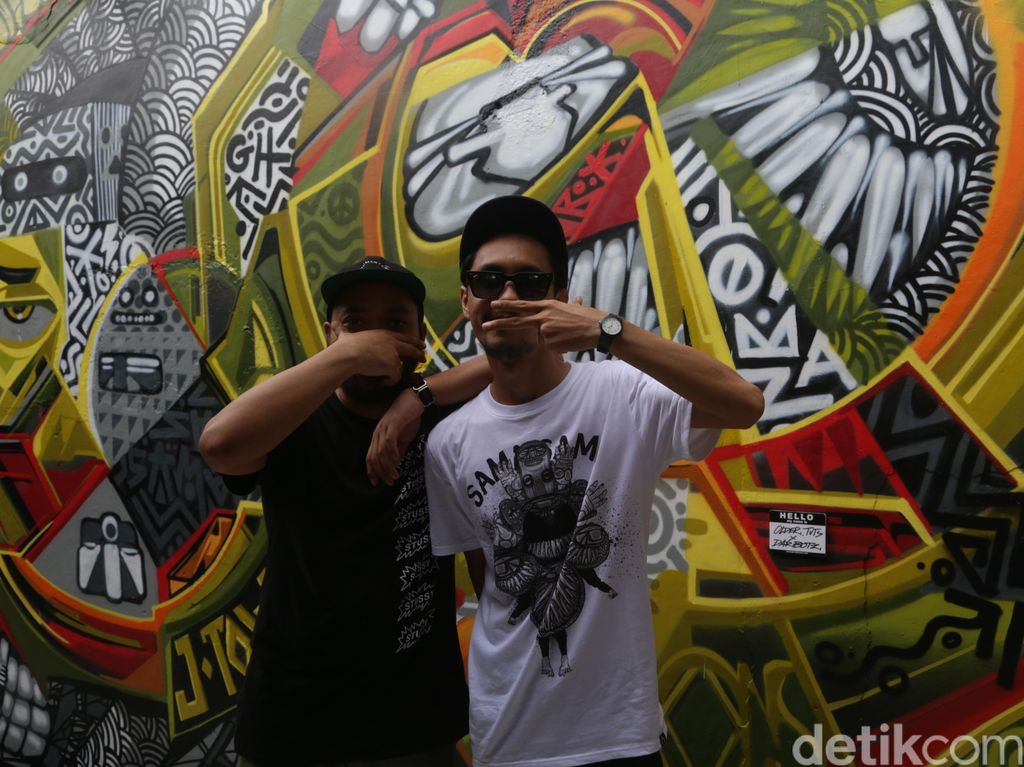 Pameran Sama Sama Darbotz dan Puluhan Street Artist Resmi Dibuka