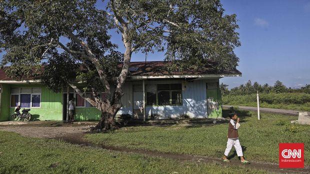 Lokasi bekas bangunan Markas Komando (Mako), tempat satrawan Pramoedya Ananta Toer biasa menuliskan karya-karyanya,