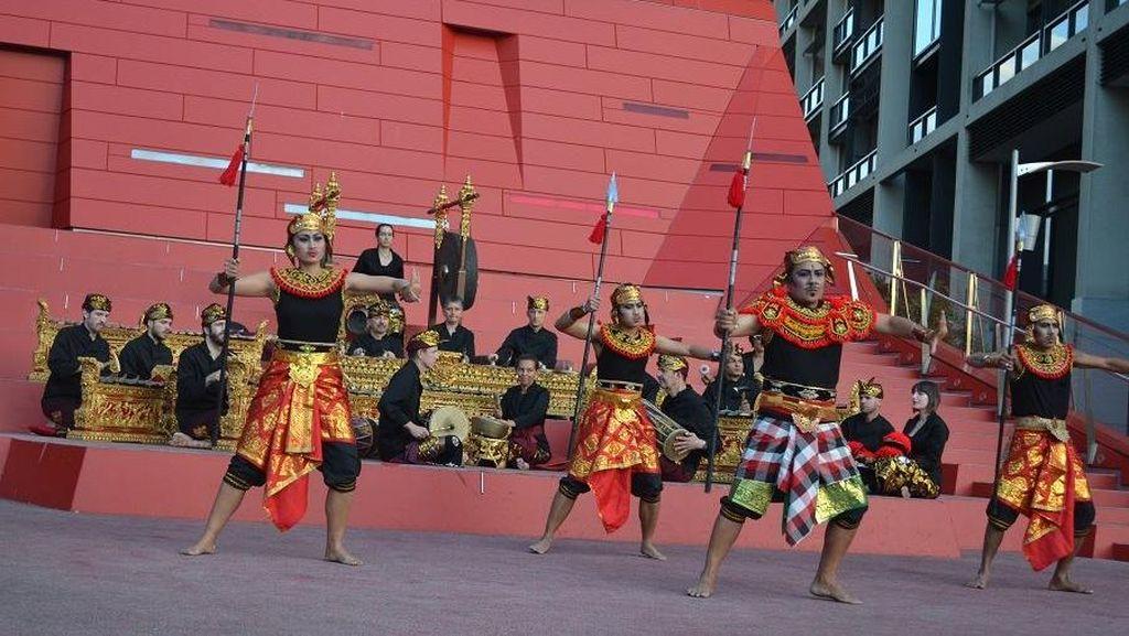 Ketika Bunyi Gamelan Bali Mengalun di Tengah Musim Gugur Melbourne