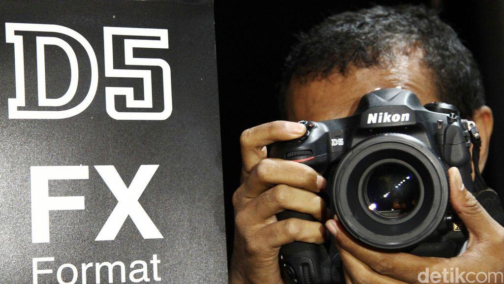 Nikon Luncurkan Kamera D5 dan J5