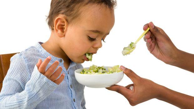 Ilustrasi anak susah makan