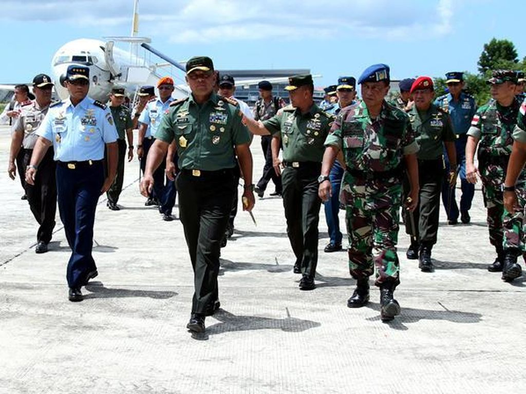 Panglima TNI Cek Kesiapan PPRC TNI di Tarakan