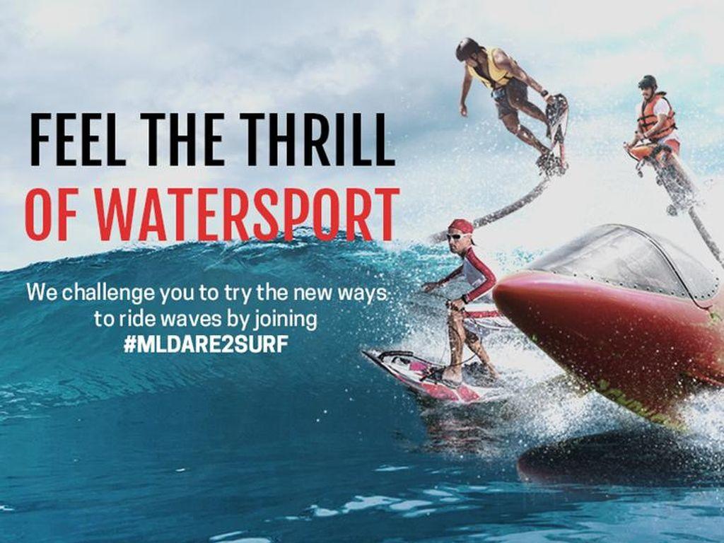 MLDSPOT Menantang Kamu Untuk Coba Watersport Terbaru
