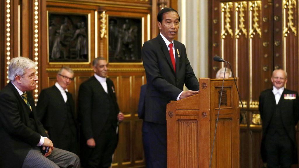 Presiden Jokowi Promosikan Wonderful Indonesia di Inggris