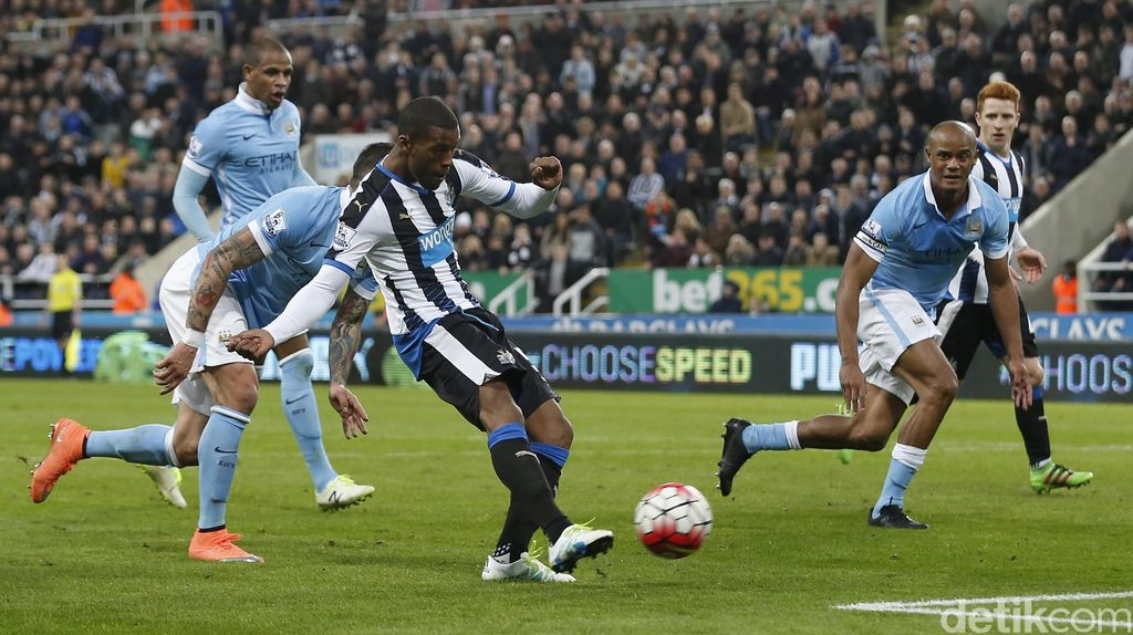 Duel Newcastle vs City Berakhir Imbang