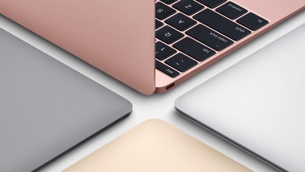 Cantiknya New MacBook Rose Gold