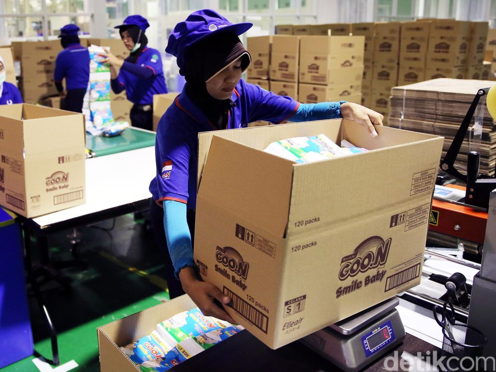 Pabrik Popok GOO.N  Mulai Produksi di Bekasi