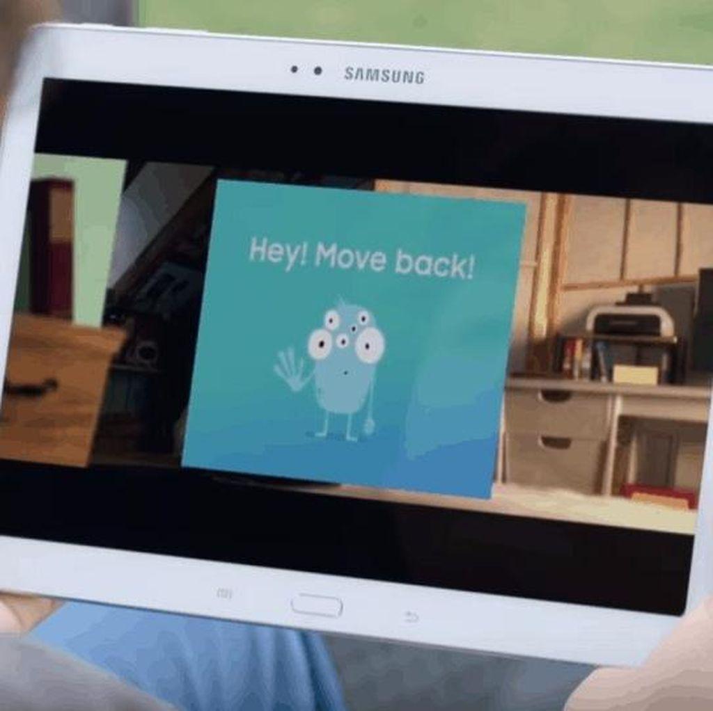 Samsung Bikin Aplikasi Kesehatan Mata