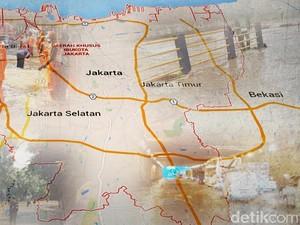 Ini 10 Titik Jalan di Jakarta yang Tergenang Imbas Hujan Deras