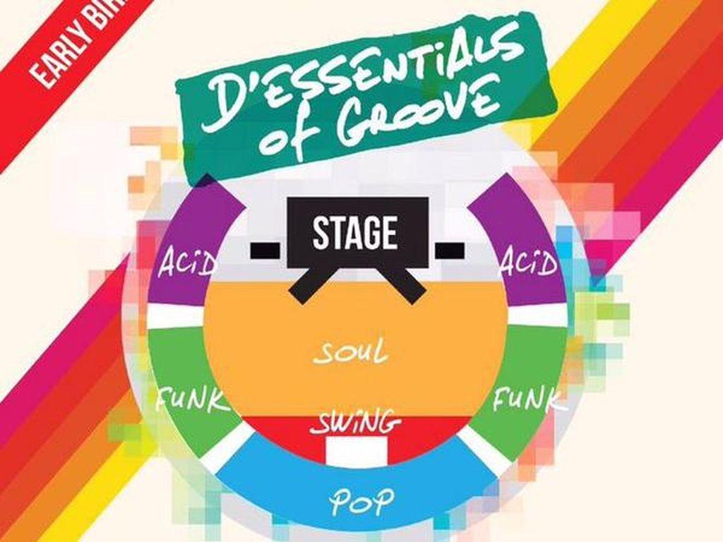 Tiket Konser Dessential Of Groove Dijual Mulai Rp 250 Ribu