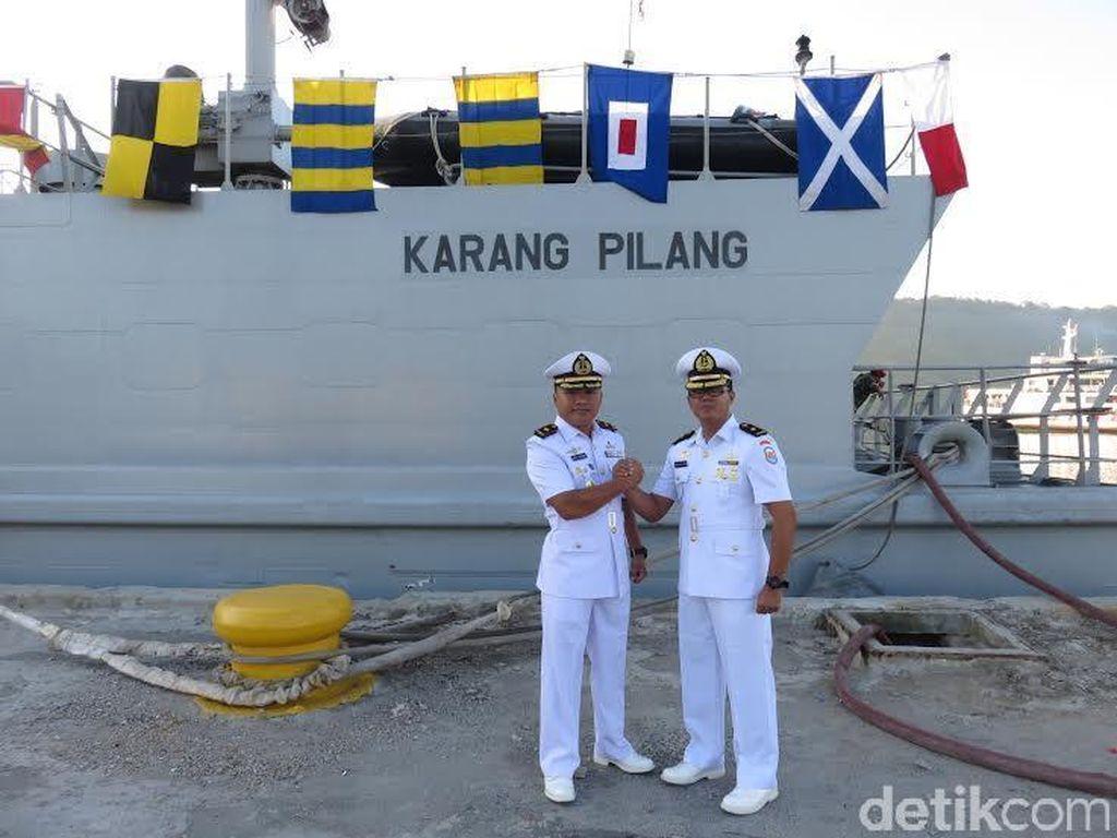 Mayor Laut (P) Bekti Sutiarso, Komandan KRI Karang Pilang 981 yang Baru