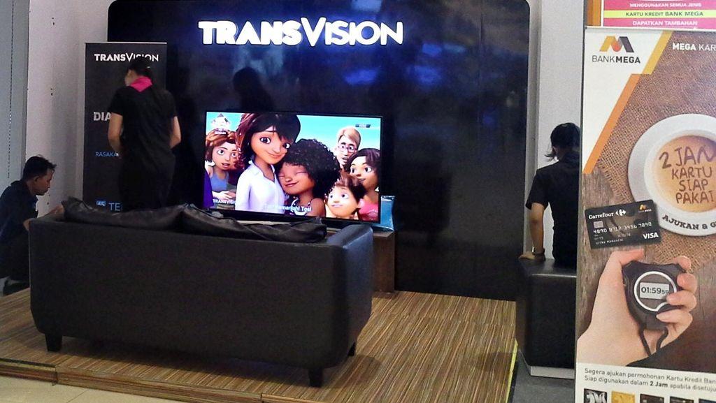 Transvision Bagi-bagi TV LED Gratis di HUT ke-17 Transmedia